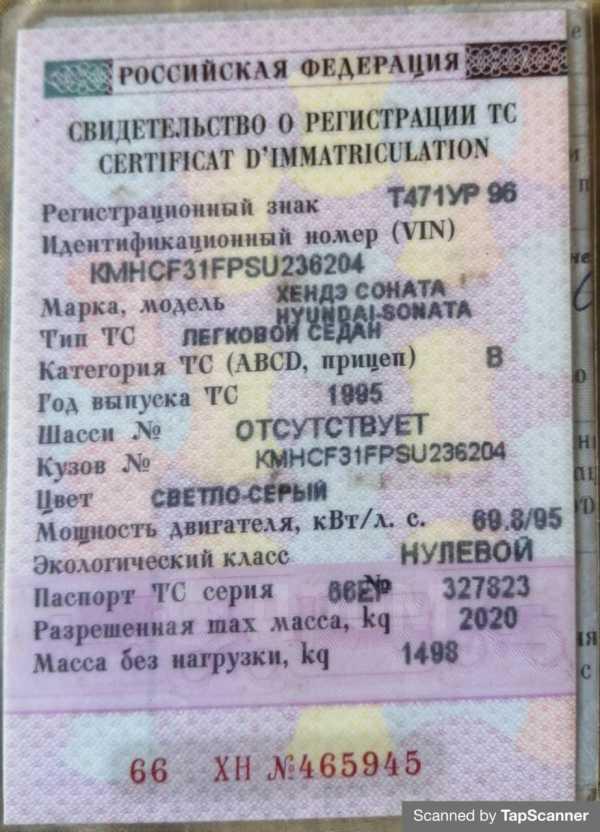 Hyundai Sonata, 1995 год, 100 000 руб.