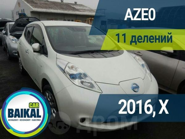 Nissan Leaf, 2016 год, 664 000 руб.