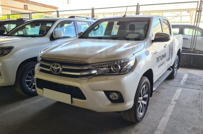Toyota Hilux Pick Up, 2018 год, 2 770 000 руб.