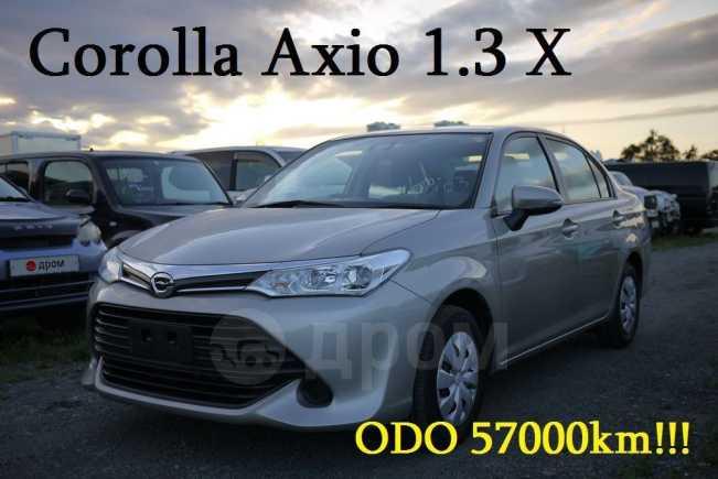 Toyota Corolla Axio, 2017 год, 639 000 руб.