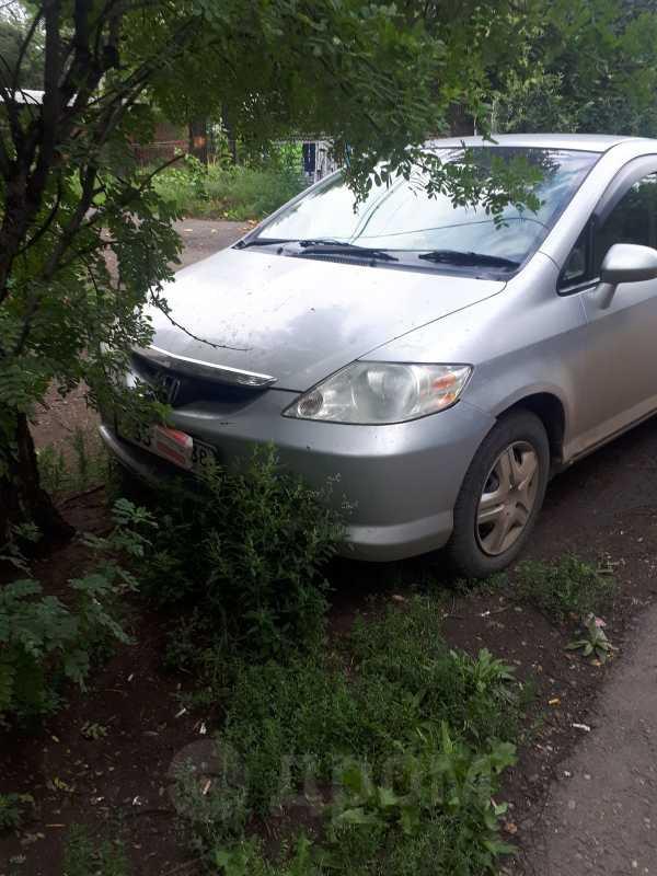 Honda Fit Aria, 2003 год, 200 000 руб.