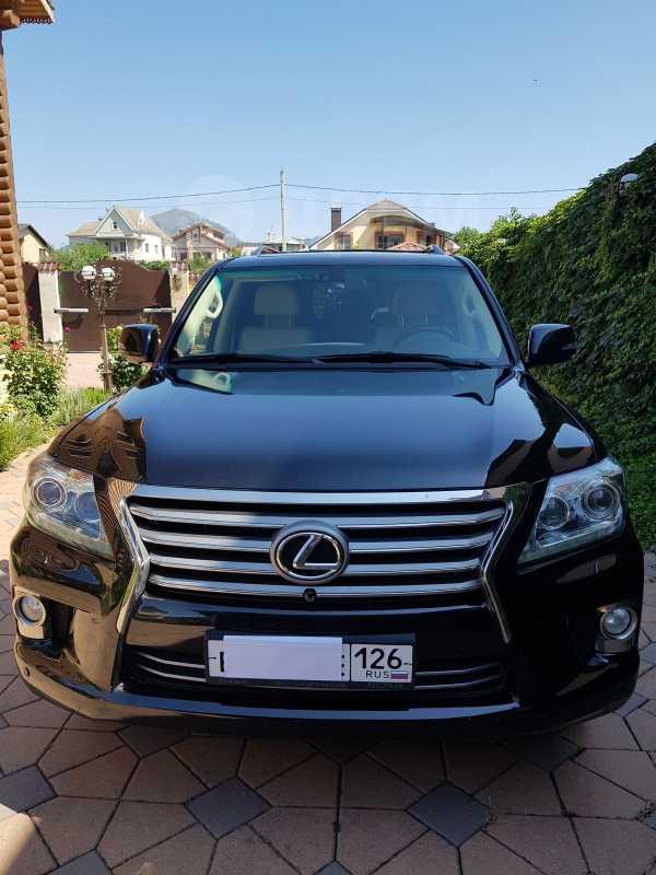 Lexus LX570, 2012 год, 4 200 000 руб.