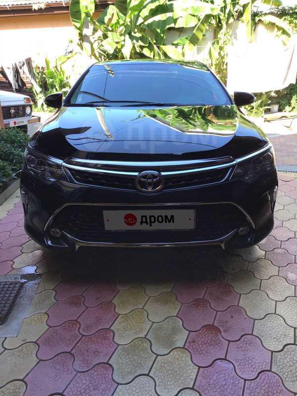 Toyota Camry, 2017 год, 1 550 000 руб.