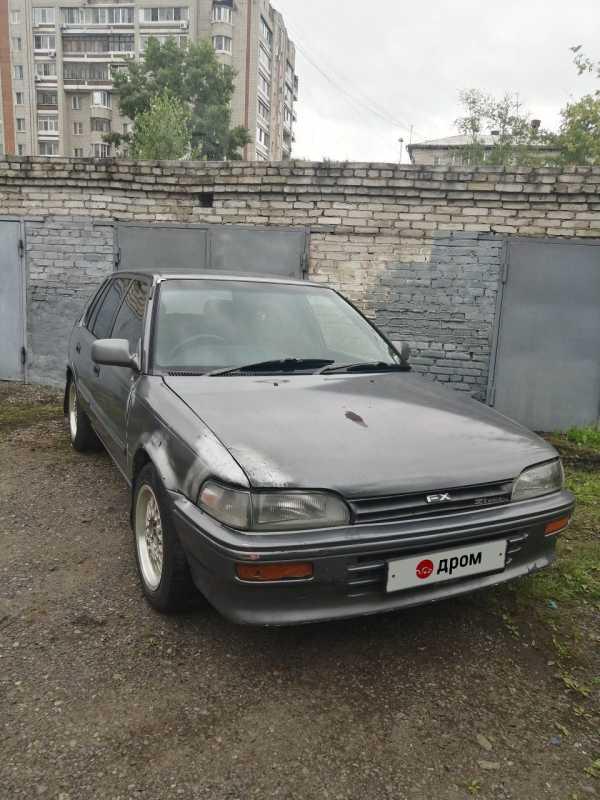 Toyota Corolla FX, 1989 год, 85 000 руб.