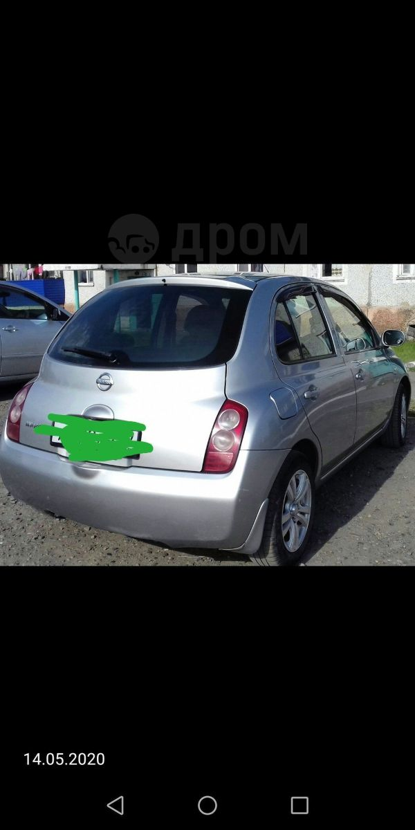 Nissan March, 2003 год, 215 000 руб.