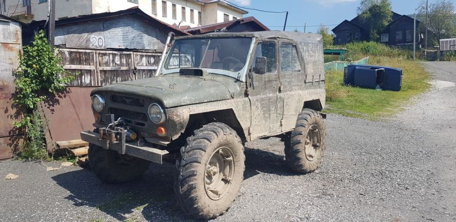 УАЗ 469, 1977 год, 55 000 руб.