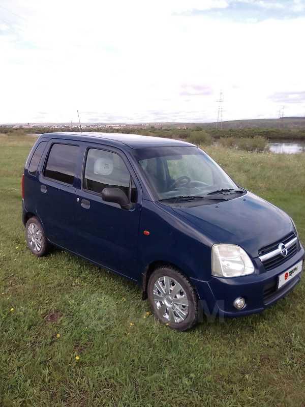 Opel Agila, 2004 год, 195 000 руб.