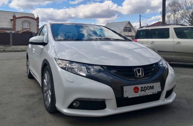 Honda Civic, 2012 год, 730 000 руб.