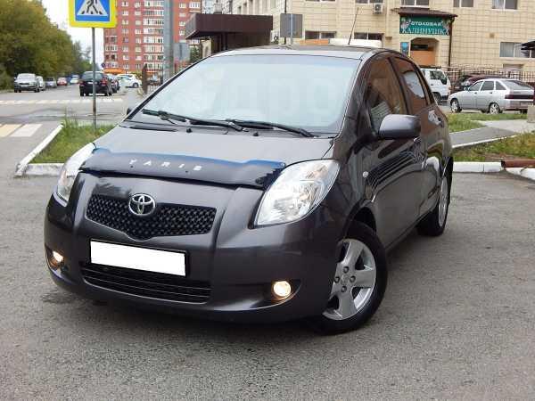Toyota Yaris, 2007 год, 295 000 руб.