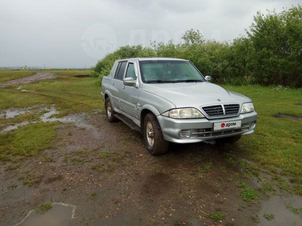 SsangYong Musso Sports, 2004 год, 310 000 руб.