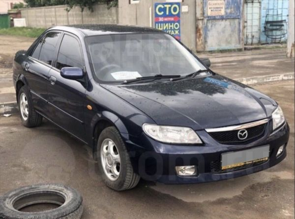 Mazda 323, 2001 год, 210 000 руб.