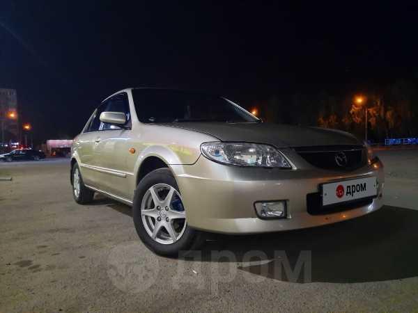 Mazda 323, 2002 год, 235 000 руб.