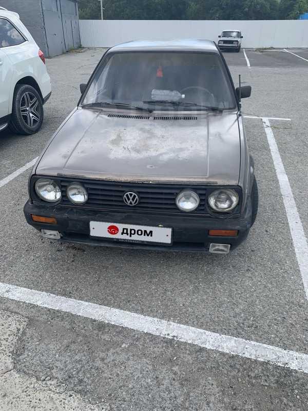 Volkswagen Golf, 1987 год, 70 000 руб.