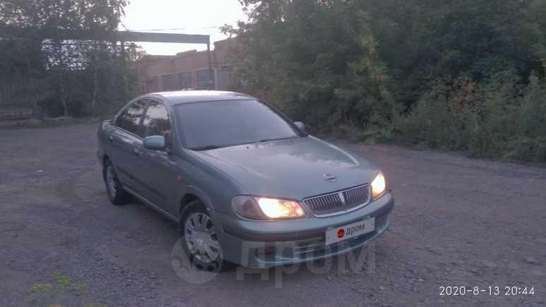 Nissan Almera, 2002 год, 115 000 руб.