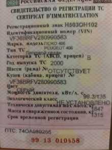 Увельский 406 2000
