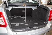 Datsun on-DO 201912 - Размеры багажника