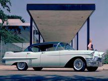 Cadillac DeVille рестайлинг 1955, седан, 2 поколение, Series 62