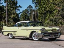 Cadillac DeVille рестайлинг 1955, купе, 2 поколение, Series 62