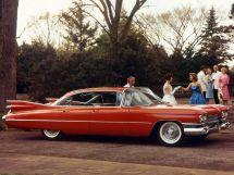Cadillac DeVille 1958, седан, 3 поколение, Series 6300