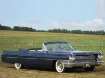Cadillac DeVille 1963, открытый кузов, 4 поколение, Series 6300
