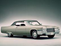 Cadillac DeVille рестайлинг 1969, купе, 5 поколение, Series 683