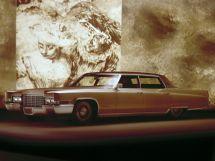 Cadillac DeVille рестайлинг 1969, седан, 5 поколение, Series 683