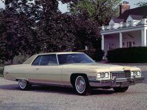Cadillac DeVille рестайлинг 1971, купе, 6 поколение