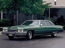Cadillac DeVille рестайлинг 1971, седан, 6 поколение