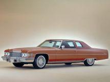 Cadillac DeVille 2-й рестайлинг 1973, купе, 6 поколение