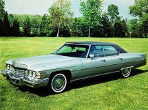 Cadillac DeVille 2-й рестайлинг 1973, седан, 6 поколение