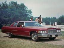 Cadillac DeVille 3-й рестайлинг 1974, купе, 6 поколение