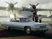 Cadillac DeVille 3-й рестайлинг 1974, седан, 6 поколение