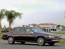 Cadillac DeVille 1984, купе, 8 поколение