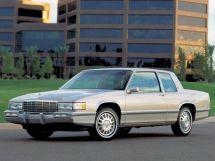 Cadillac DeVille рестайлинг 1988, купе, 8 поколение