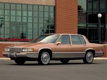 Cadillac DeVille рестайлинг 1988, седан, 8 поколение