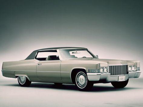 Cadillac DeVille (Series 683) 01.1969 - 09.1970
