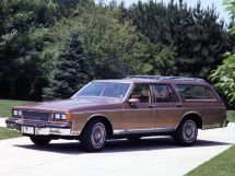 Chevrolet Caprice рестайлинг 1979, универсал, 3 поколение