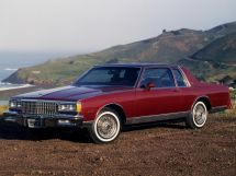Chevrolet Caprice рестайлинг 1979, купе, 3 поколение