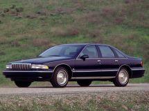 Chevrolet Caprice рестайлинг 1992, седан, 4 поколение