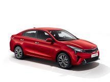 Kia Rio рестайлинг 2020, седан, 4 поколение, FB