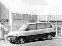 Mazda MPV 1988, минивэн, 1 поколение, LV