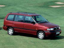 Mazda MPV рестайлинг 1995, минивэн, 1 поколение, LV