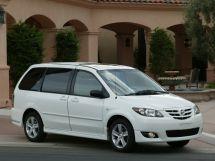 Mazda MPV 2-й рестайлинг 2003, минивэн, 2 поколение, LW