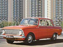 Москвич 412 рестайлинг 1969, седан, 1 поколение