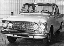 Москвич 412 1967, седан, 1 поколение