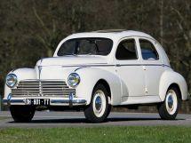 Peugeot 203 1948, седан, 1 поколение