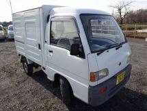 Subaru Sambar Truck рестайлинг 1992, фургон, 5 поколение, KV