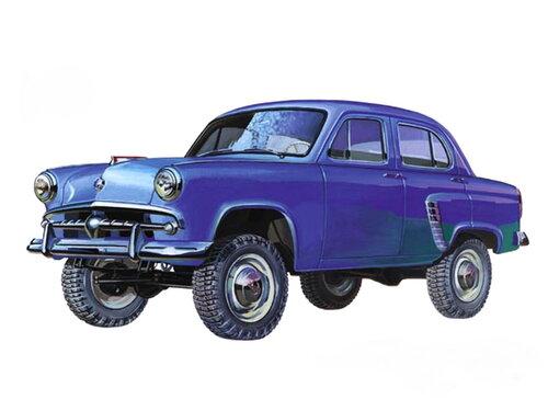Москвич 410 1957 - 1958