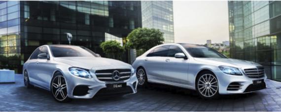 Специальные условия на приобретение Mercedes-Benz Е-Класса и S-Класса для корпоративных клиентов