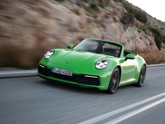 Новый Porsche 911 в Порше Центр Ясенево